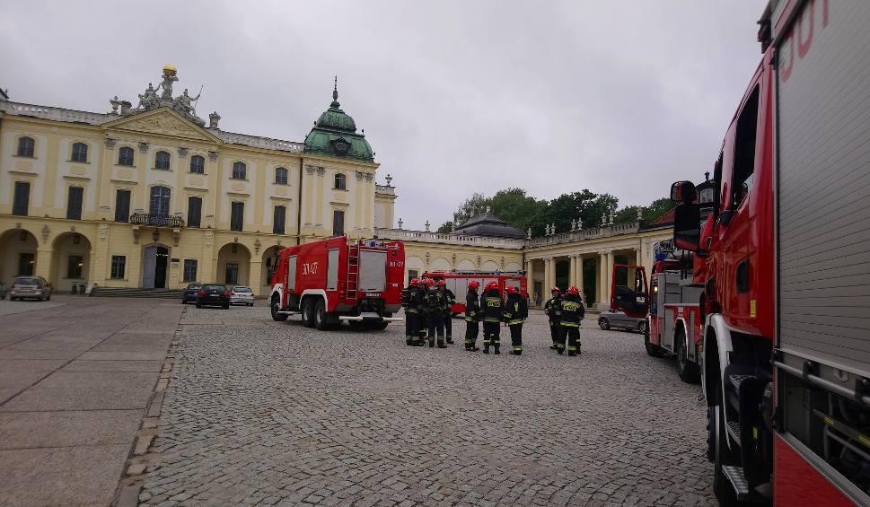 Film do artykułu: Fałszywy alarm w Pałacu Branickich w Białymstoku (wideo)