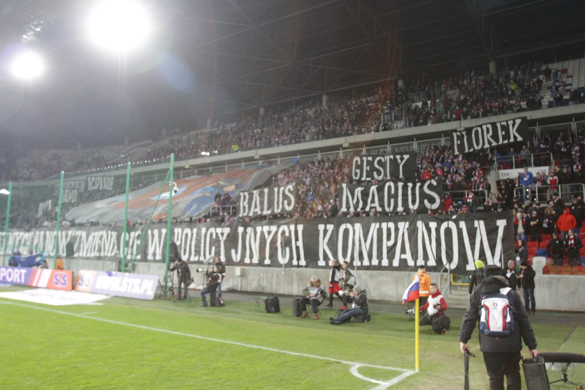 Górnik Zabrze – Wisła Kraków: Wisła Kraków 2:0 ZDJĘCIA KIBICÓW Torcida