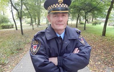Andrzej Jasiński, zastępca komendanta straży miejskiej w Gorzowie Wlkp.