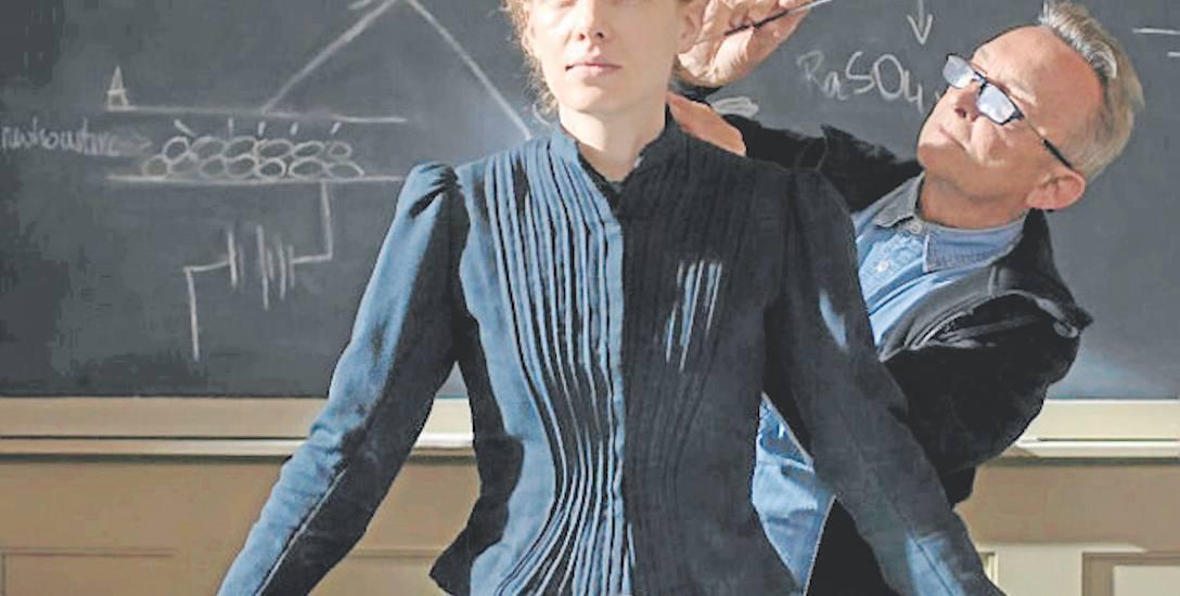 """Część zdjęć do """"Marii Skłodowskiej-Curie"""" powstała minionego lata na Uniwersytecie Jagiellońskim w Krakowie."""