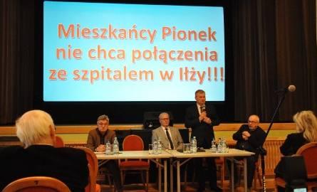 Łączenie szpitali w Pionkach i Iłży. Protestują mieszkańcy i samorządowcy. Co zrobi powiat radomski?