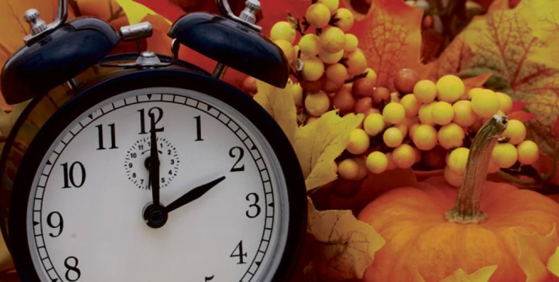 Zmiana czasu na jesienny