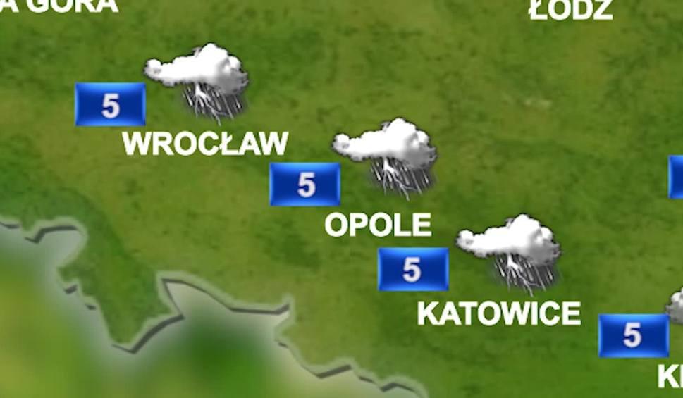 Film do artykułu: Prognoza pogody na piątek 15 grudnia: dziś opady deszczu i śniegu. Uwaga na burze z piorunami! WIDEO