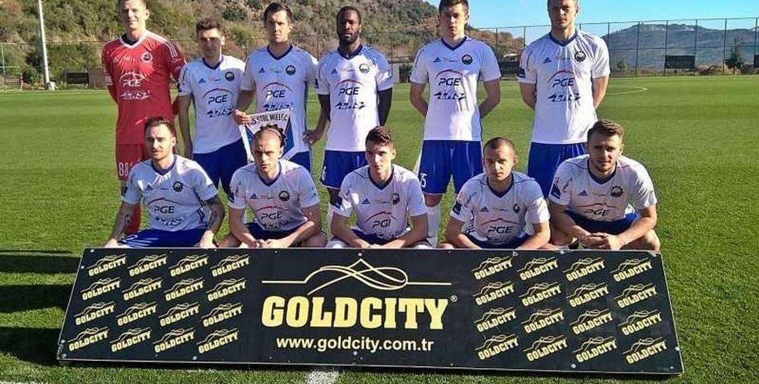 W takim składzie piłkarze Stali Mielec wyszli na spotkanie z kazachskim drugoligowcem
