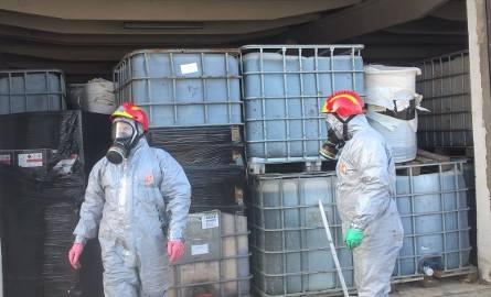 - Nie ma bezpośredniego zagrożenia - stwierdziły służby ochrony środowiska po zbadaniu składu w Borkowicach.