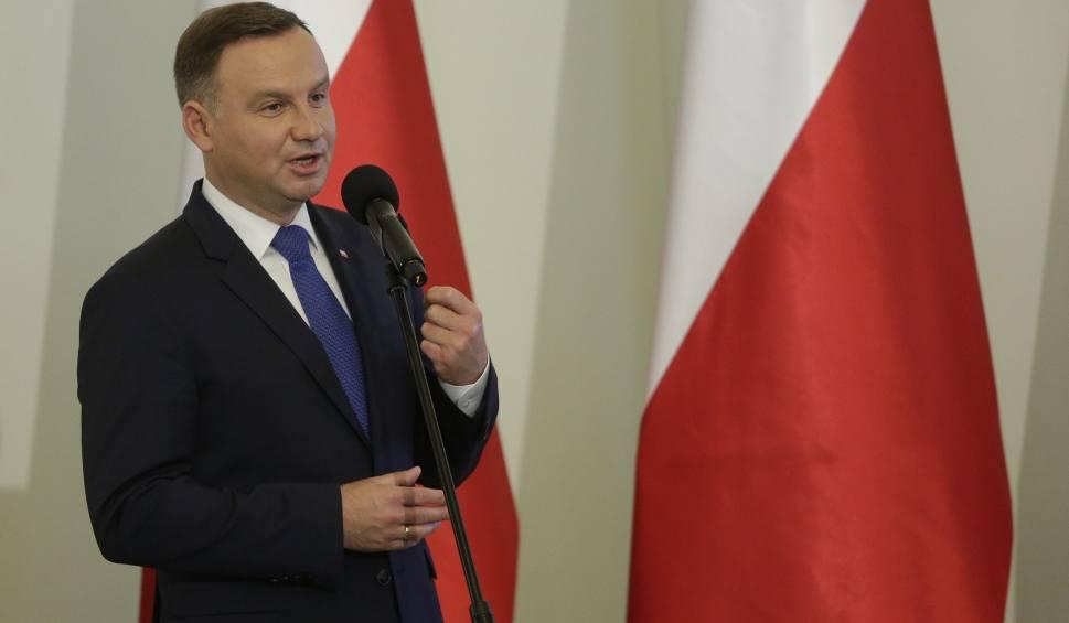 Film do artykułu: Andrzej Duda przedstawił swoje projekty ustaw o SN i KRS