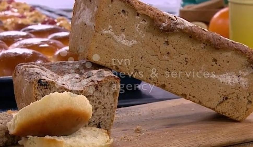 Film do artykułu: Jak upiec chleb w domu? Zdradza cukiernik