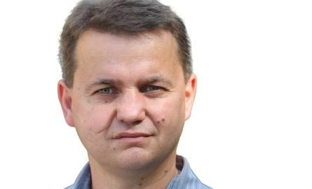 """Grzegorz Hilarecki - redaktor """"Głosu Pomorza""""."""