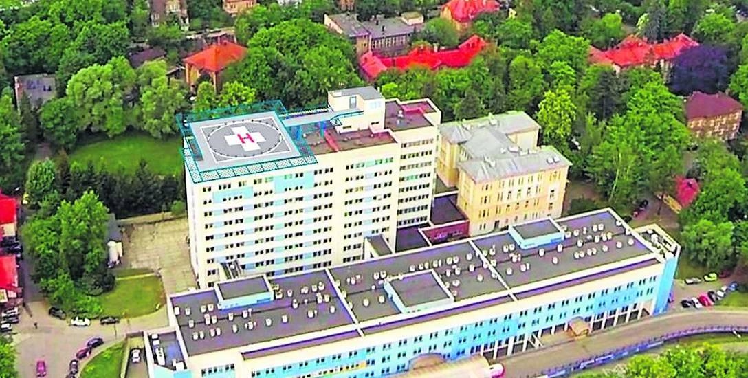 Lądowisko powstanie na dachu szpitala. Droższe niż zakładano
