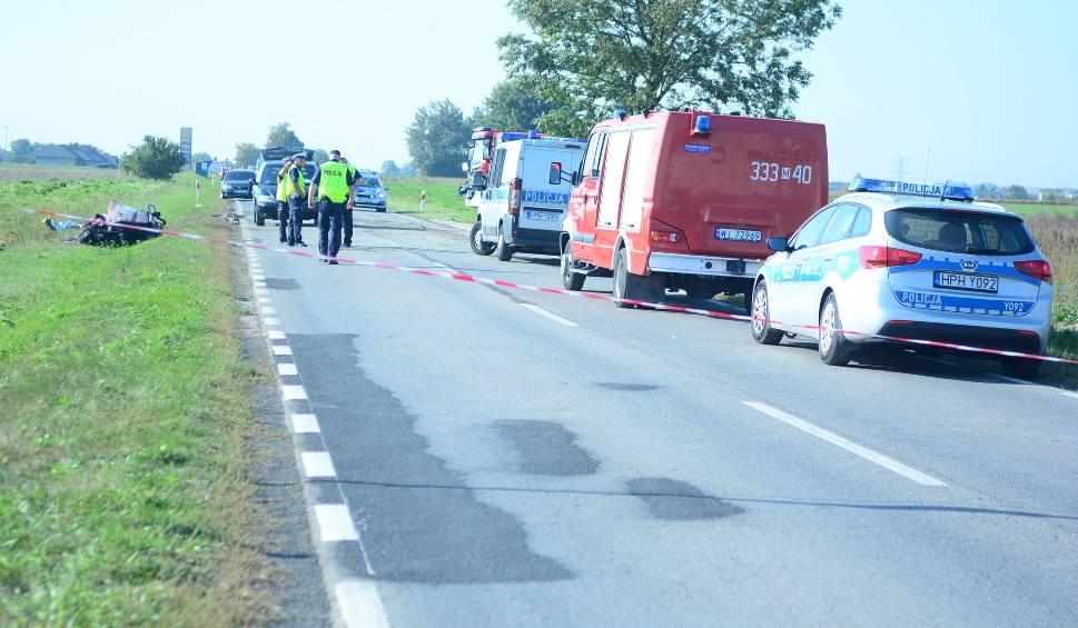 Film do artykułu: Pod Wierzbicą zginęli mieszkańcy Starachowic 60-letnia kobieta i 58 - letni mężczyzna jadący rano do Radomia