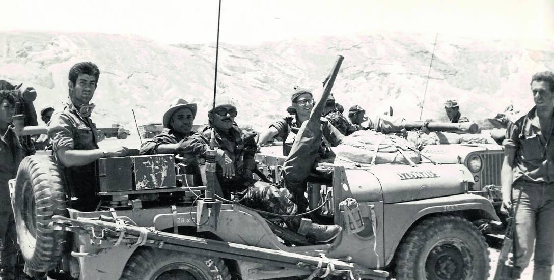 Żołnierze izraelskich sił zbrojnych (Cahalu) podczas Wojny Sześciodniowej
