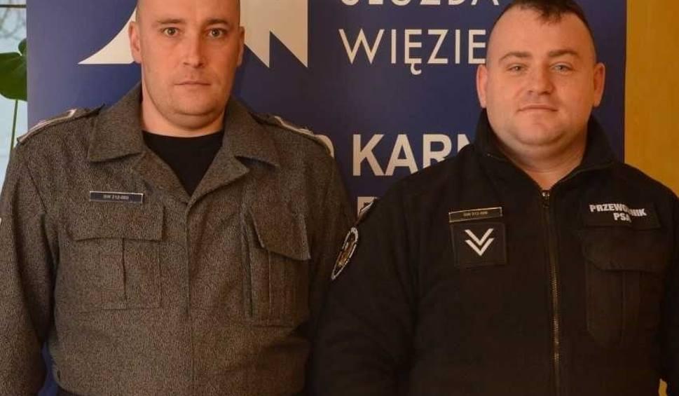Film do artykułu: Strażnicy z Zakładu Karnego pomogli mężczyźnie z padaczką