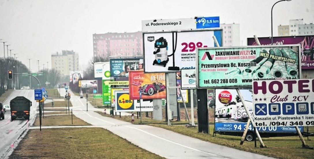 Zdecydowana większość uczestników ankiety uważa, że na ulicach Koszalina jest zbyt dużo reklam