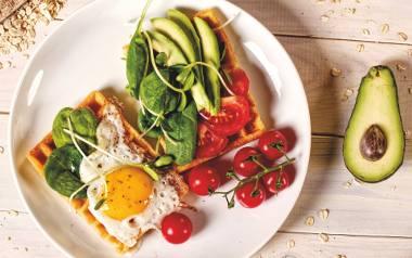 Wytrawne gofry to doskonały pomysł na smaczne i pożywne śniadanie.