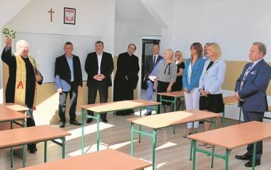 Adaptacja poddasza pod sale w Szkole Podstawowej w Osieku kosztowała 100 tys. zł. Było to jedno z siedmiu zadań, które w Budżecie Obywatelskim na 2017