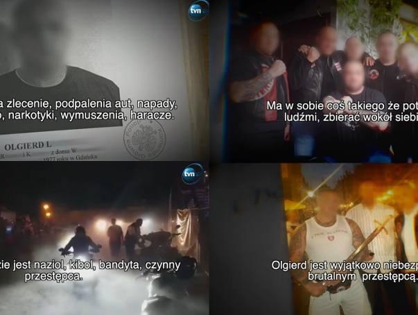 """""""Naziol, kibol, bandyta"""" czyli reportaż o Olgierdzie L. w """"Superwizjerze"""" TVN. Historia przestępcy, który próbuje zbliżyć się do"""