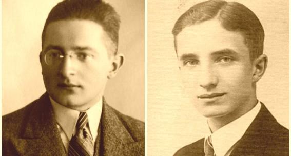 Marian Rejewski i Kazimierz Gaca - ojcowie polskiego wywiadu.