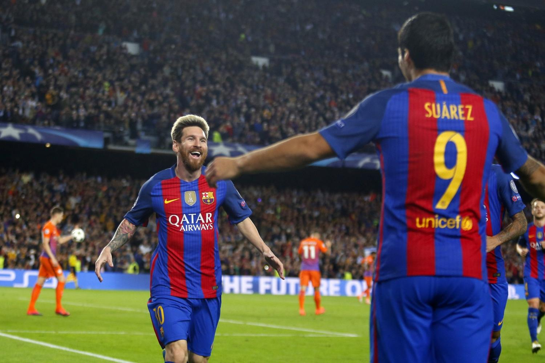 Barcelona rozjechała Manchester City. Hat-trick Messiego!