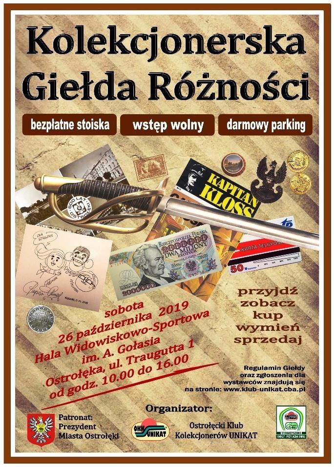 Giełda Kolekcjonerska w Ostrołęce
