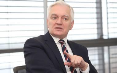 Jarosław Gowin, wicepremier oraz minister nauki i szkolnictwa wyższego