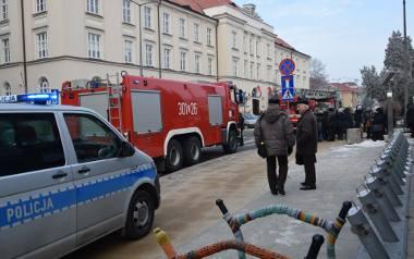 Wczorajszy alarm bombowy w LUW, tak jak ten sprzed tygodnia na KUL, okazał się fałszywy