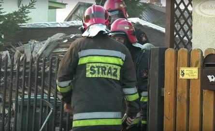 Pożar na ulicy Górnej w Sokółce. Spalił się garnek