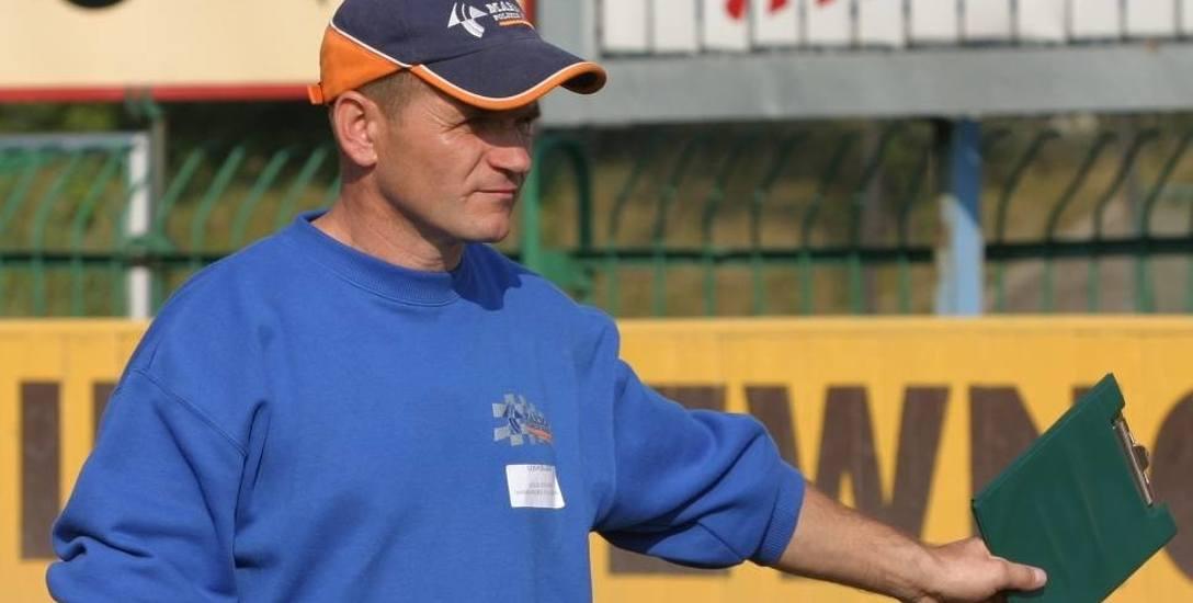 """Trener stalowców Janusz Stachyra zapewnia, że jego """"Żurawie"""" będą bardzo dobrze przygotowane do meczów barażowych"""