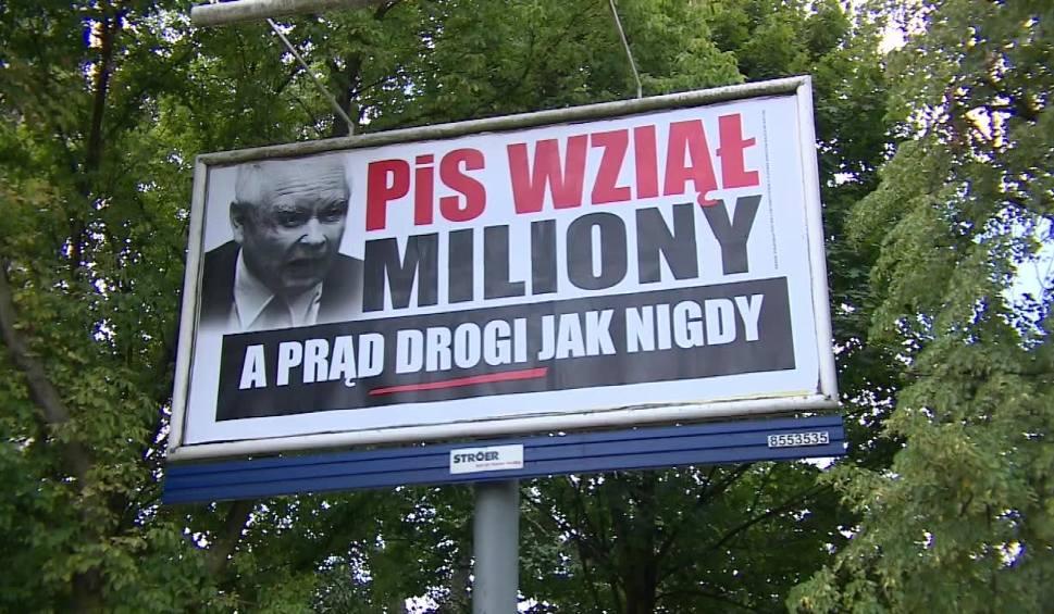 """Film do artykułu: """"PiS wziął miliony"""": ruszyła plakatowa kampania wyborcza WIDEO + ZDJĘCIA"""