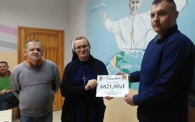 Siarkowcy dzieciakom. Kibice przekazali ponad 10 tysięcy złotych dla dzieci i seniorów