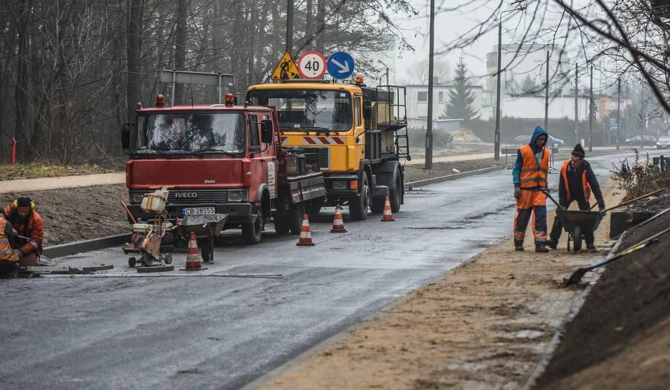 Film do artykułu: Firma dalej chce remontować ulicę Glinki w Bydgoszczy