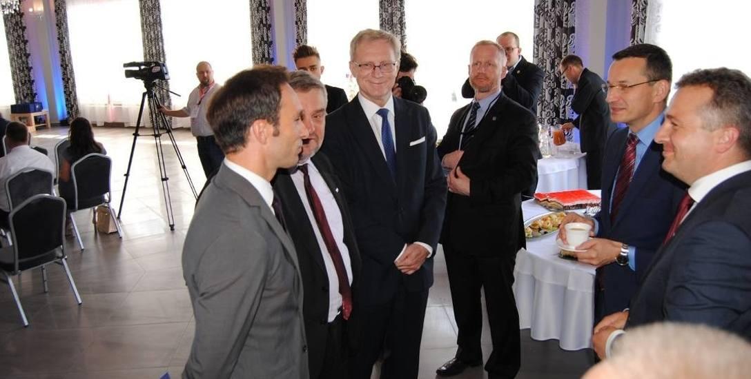 """W kategorii """"Najlepsza inicjatywa w zakresie wsparcia lokalnego rozwoju gospodarczego"""" Rypin zajął drugie miejsce. Doceniono spotkanie gospodarcze zorganizowane"""