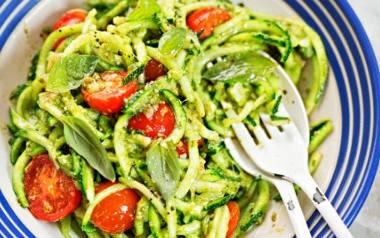 Spaghetti z warzyw to doskonały pomysł na lekkie danie.