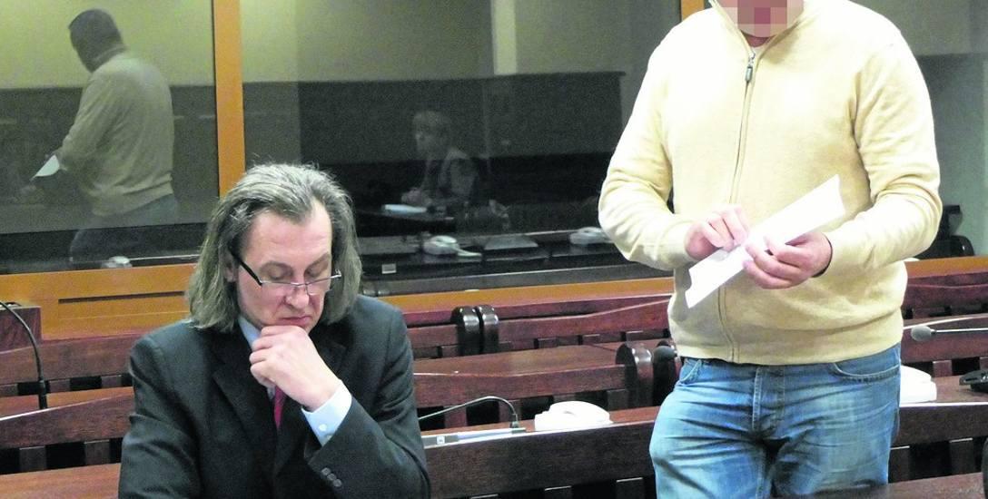 Słupski przedsiębiorca Andrzej O. domaga się 100 tysięcy złotych zadośćuczynienia