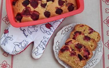 Ciasto ucierane z truskawkami. Proste i pyszne.