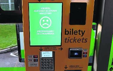 W autobusach KM Szczecinek pozostały biletomaty i kasowniki, ale są unieruchomione