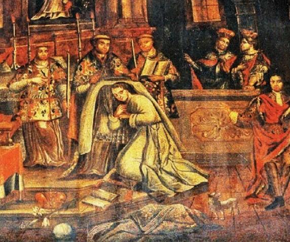 Obłóczyny Ofki z 9 kwietnia 1313 roku.