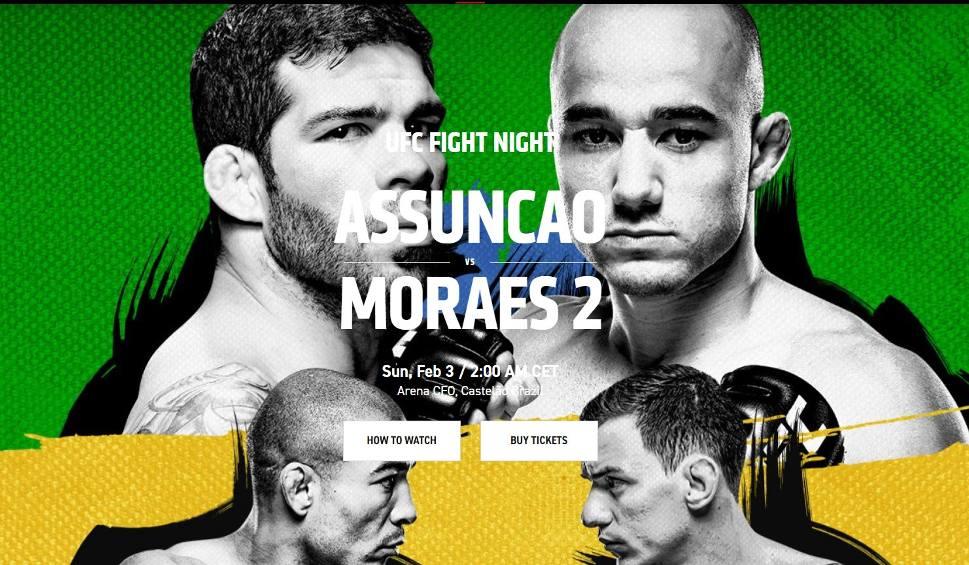 Film do artykułu: UFC Fight Night - 3 lutego. Gdzie oglądać UFC 2019? Karta walk [2.02.2019]