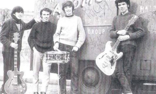 Przypuszczalnie w tym składzie angielska kapela dała swój niebanalny koncert w Rzeszowie. Od lewej: Stewart Stone, Joe Lenart, Gene Richie, Rick Len