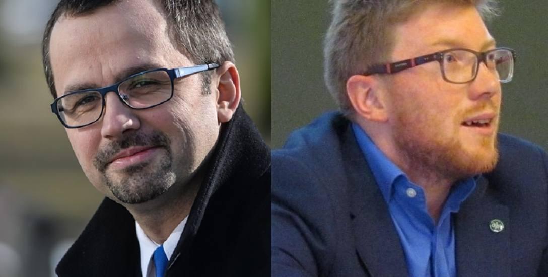 Poseł Marcin Horała i dr Tomasz Snarski