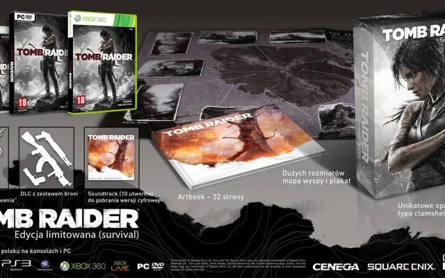 Tomb Raider: Dwie edycje kolekcjonerskie