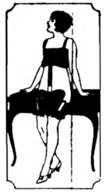 Reklama Pasa Madame X z 1925 roku.