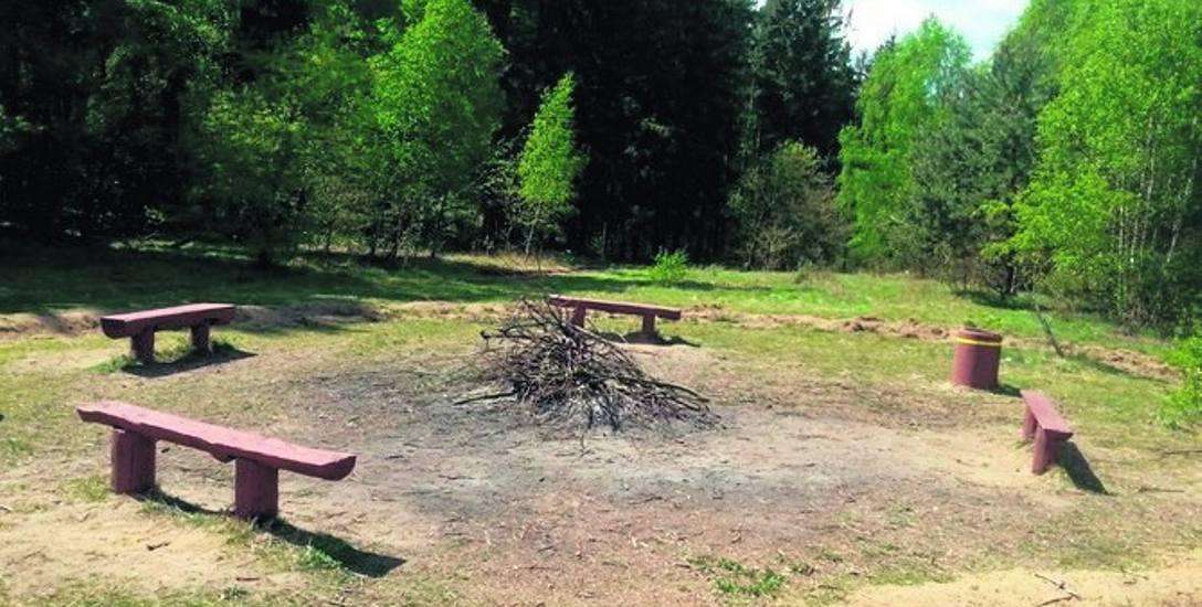 Legalnie ognisko można rozpalić tylko w tym miejscu