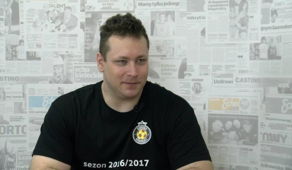 Film do artykułu: Jeden na Jeden. Trener Korony Handball o planach po awansie do Superligi