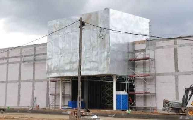 0c90a54828c3 Budowa starachowickiej Galardii za półmetkiem. Zobacz wnętrza i otoczenie  nowoczesnej galerii handlowej
