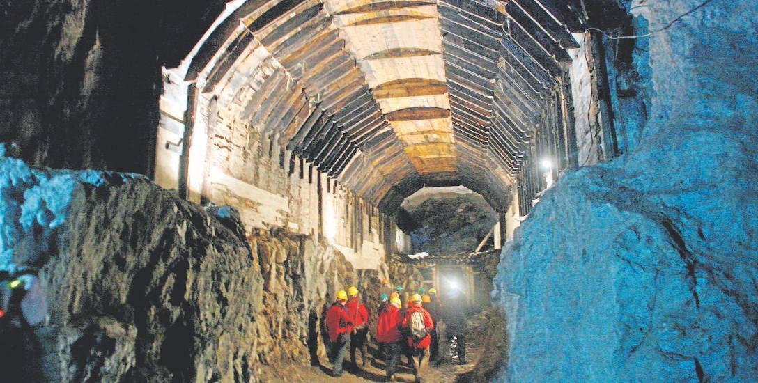 Największa komora obiektu Osówka będącego częścią Riese