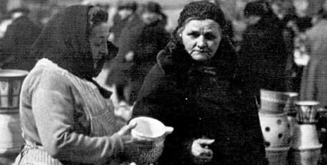 Trudno uwierzyć, ale w latach 20. XX wieku handel pod chmurką kwitł na Nowym Targu