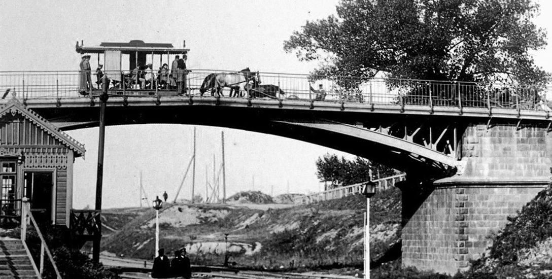 Widoki miasta Białegostoku. Tramwaje kursowały od 1896 roku