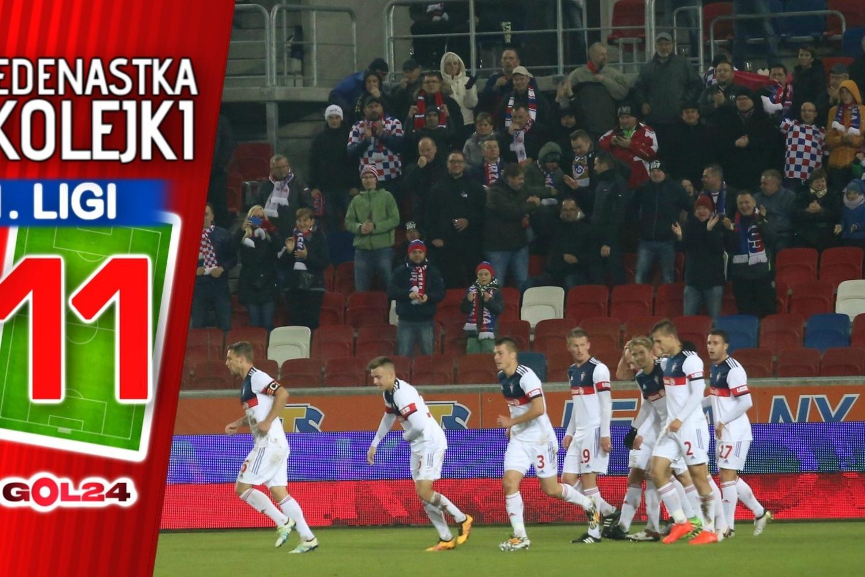 Jedenastka 22. kolejki Nice 1 Ligi według GOL24.pl!