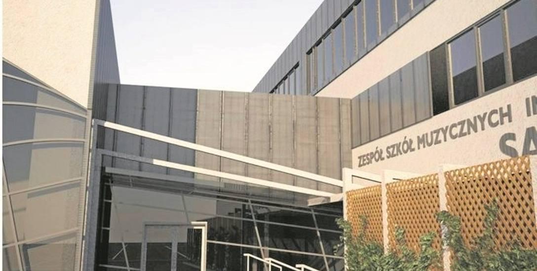 Sala koncertowa zaplanowana została obok siedziby Zespołu Szkół Muzycznych. Inwestycja jest teraz poważnie zagrożona