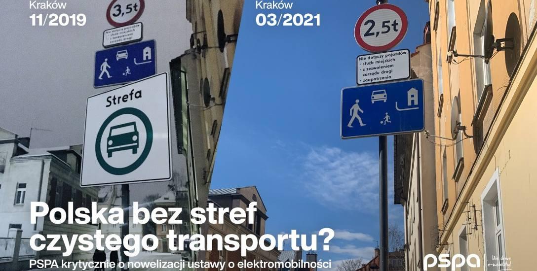 W projekcie nowelizacji ustawy o elektromobilności i paliwach alternatywnych znalazły się zapisy, które zdaniem PSPA cofają Polskę na drodze do redukcji